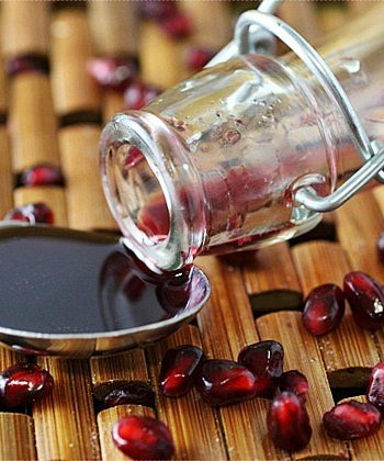 DIY Grenadine Syrup {mind-over-batter.com}