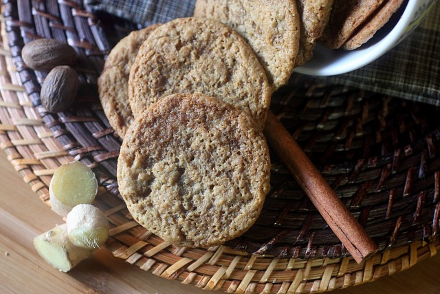 The Best Gingersnaps {mind-over-batter.com}