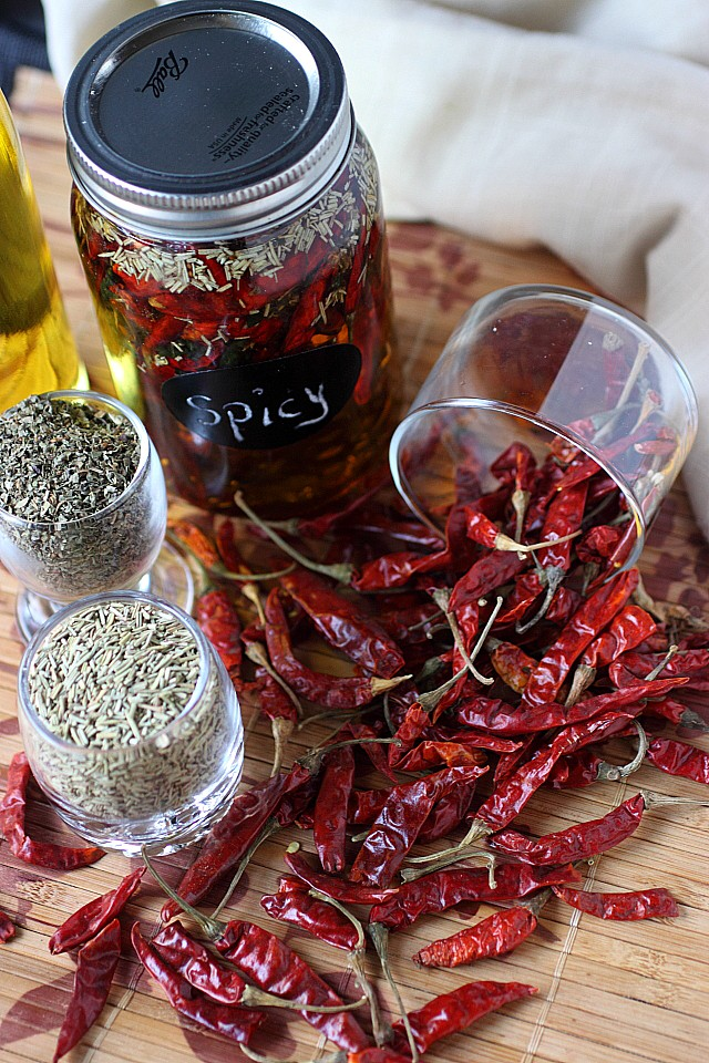 Chile de Arbol Oil-- www.mind-over-batter.com