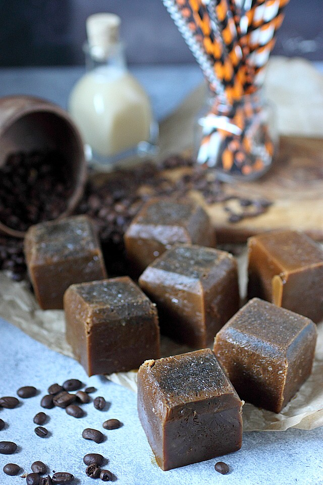 Vietnamese coffee ice cubes recipe - www.mind-over-batter.com